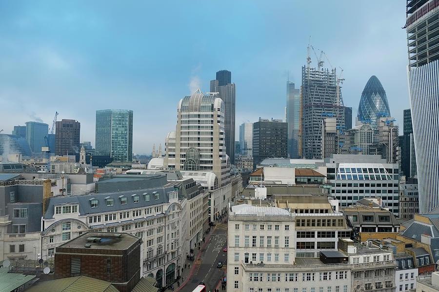 London Financial District Photograph by Travelpix Ltd