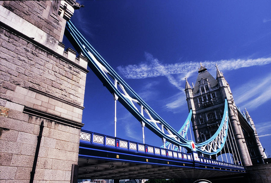 London, Large View Of Tower Bridge Photograph by Stefano Salvetti