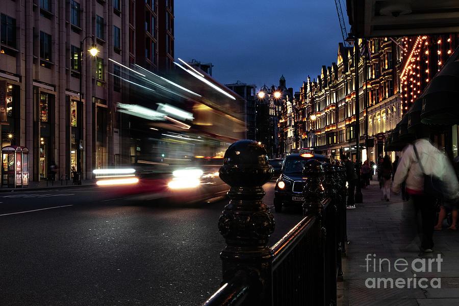 London Night by Rochelle Sjolseth