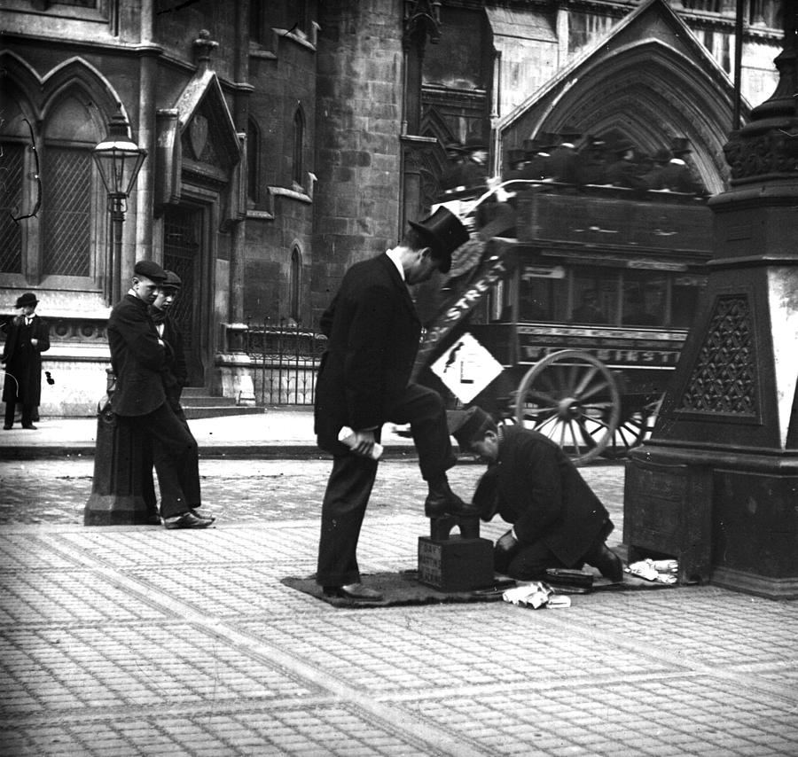 London Shoeshine Photograph by Paul Martin