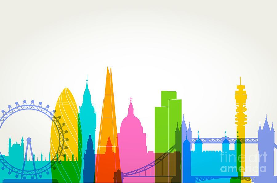 London Skyline Digital Art by Smartboy10