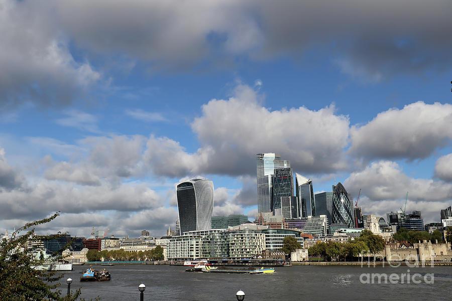 London Skyline by Steven Spak