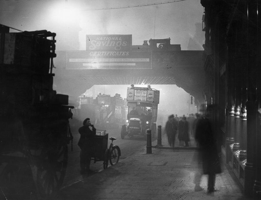 London Smog Photograph by Topical Press Agency