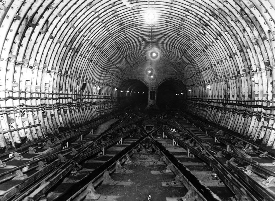London Underground Photograph by Hulton Archive