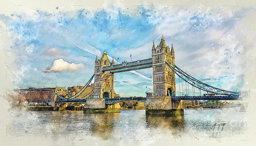 LondonBridge 1a by Mauro Celotti