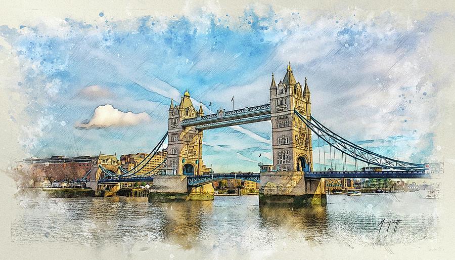 LondonBridge 1a by Mauro Celotti