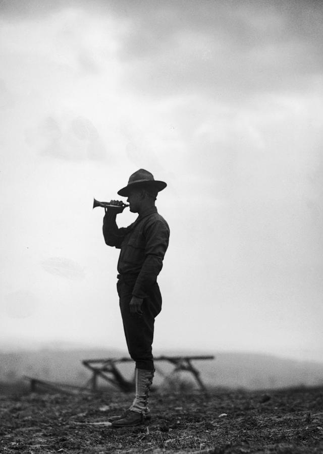 Lone Bugler Photograph by Fpg