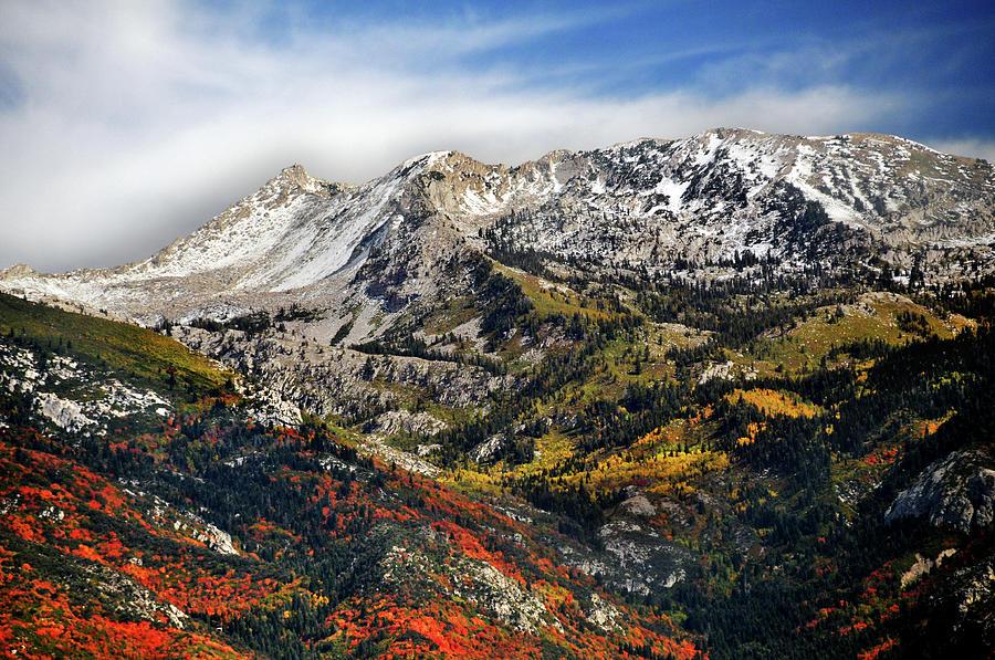 Lone Peak Wilderness Area Photograph by Utah-based Photographer Ryan Houston
