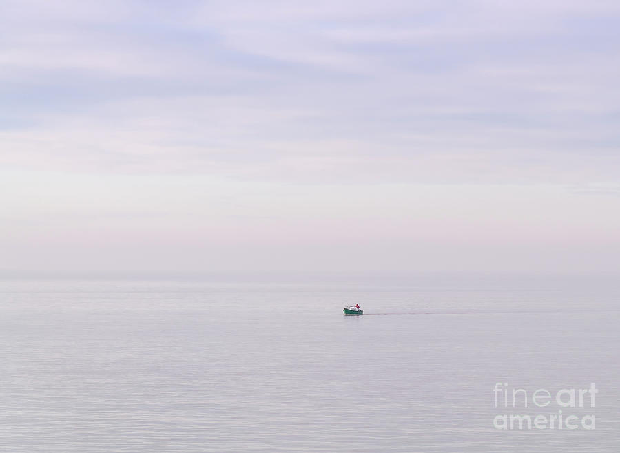 Lone sailor by Colin Rayner