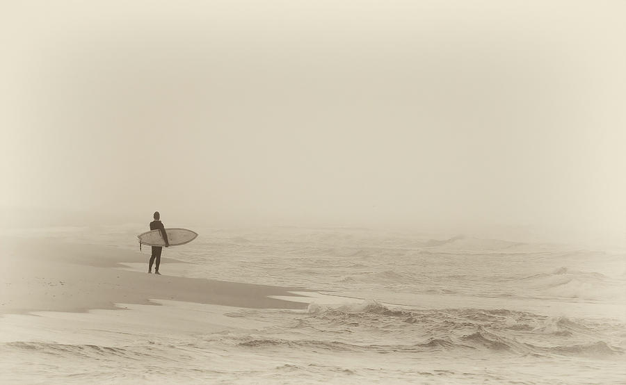 Lone Surfer by Bill Chambers