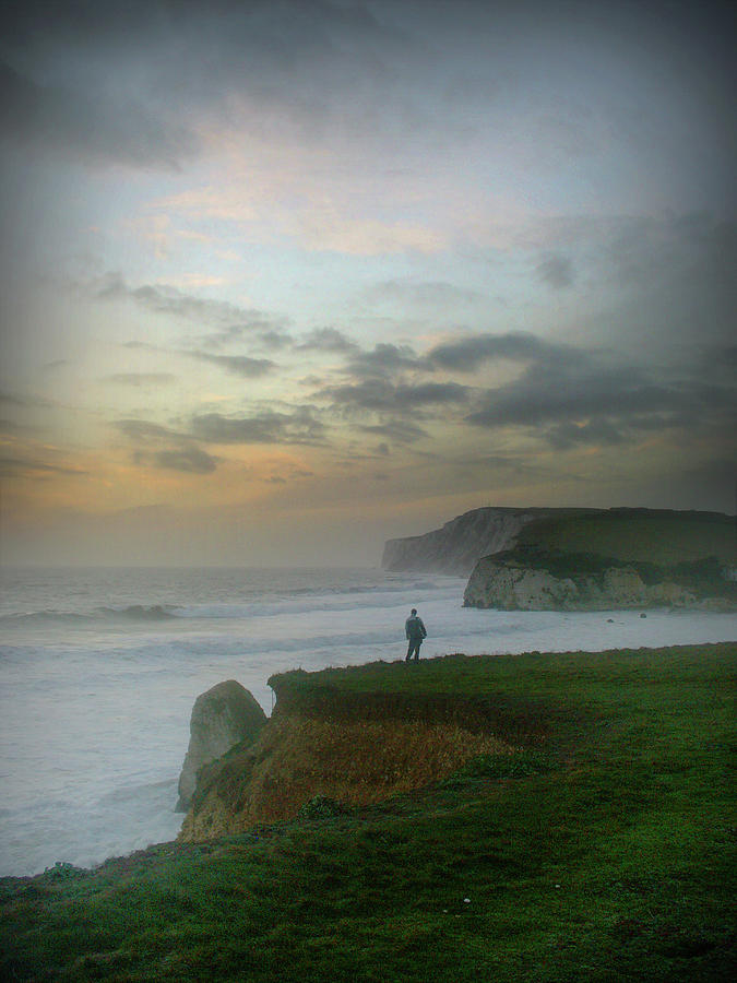 Loneliness Photograph by S0ulsurfing - Jason Swain