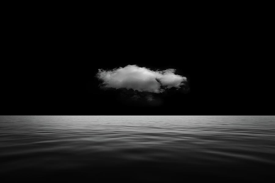 Lonely Cloud Photograph by Stefan Eisele