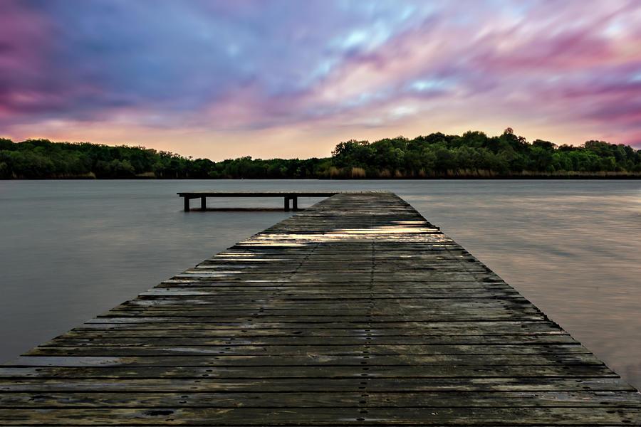 Long Exposure Dock by Stephen Riella