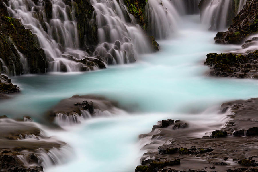Long Exposure Waterfall Photograph by Justinreznick