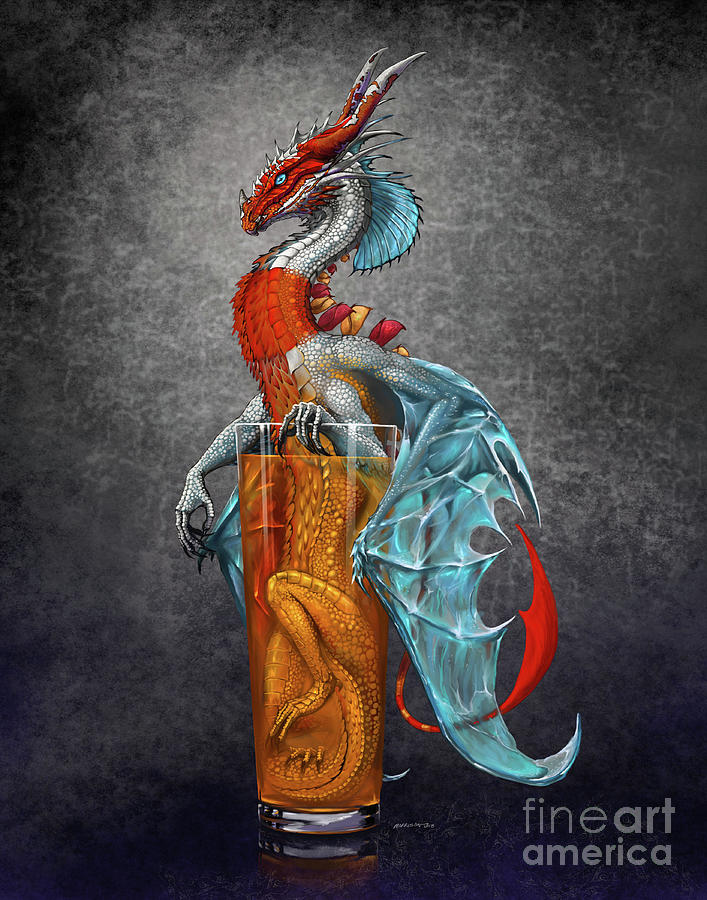 Long Island Ice Tea Dragon by Stanley Morrison
