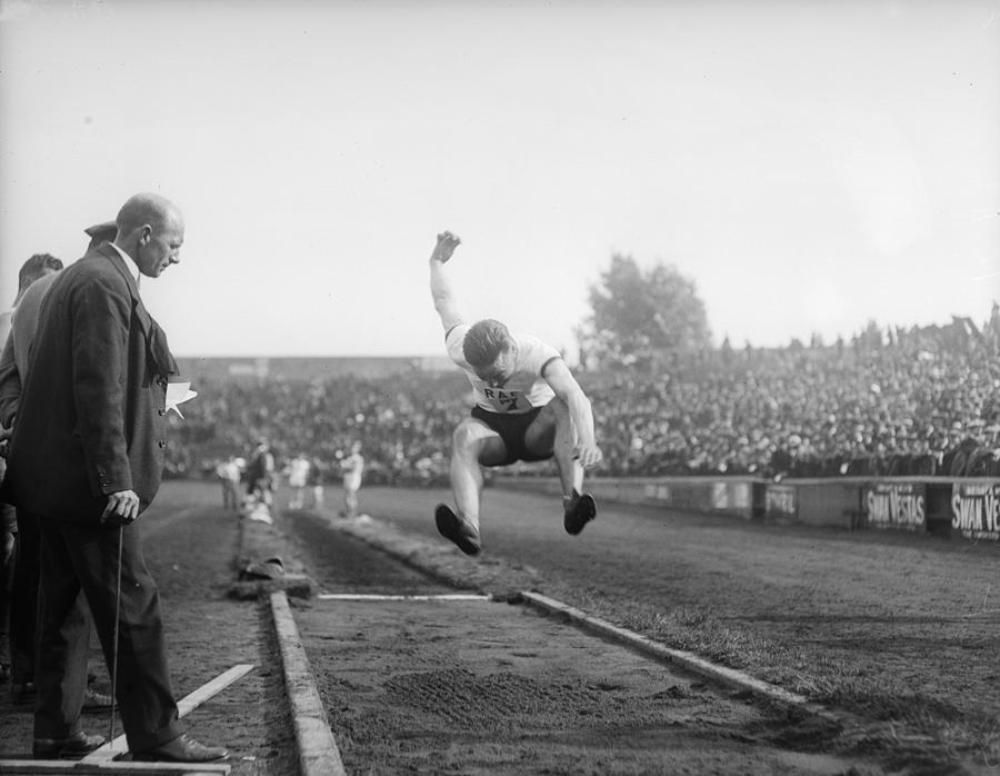 Long Jump Photograph by A. R. Coster