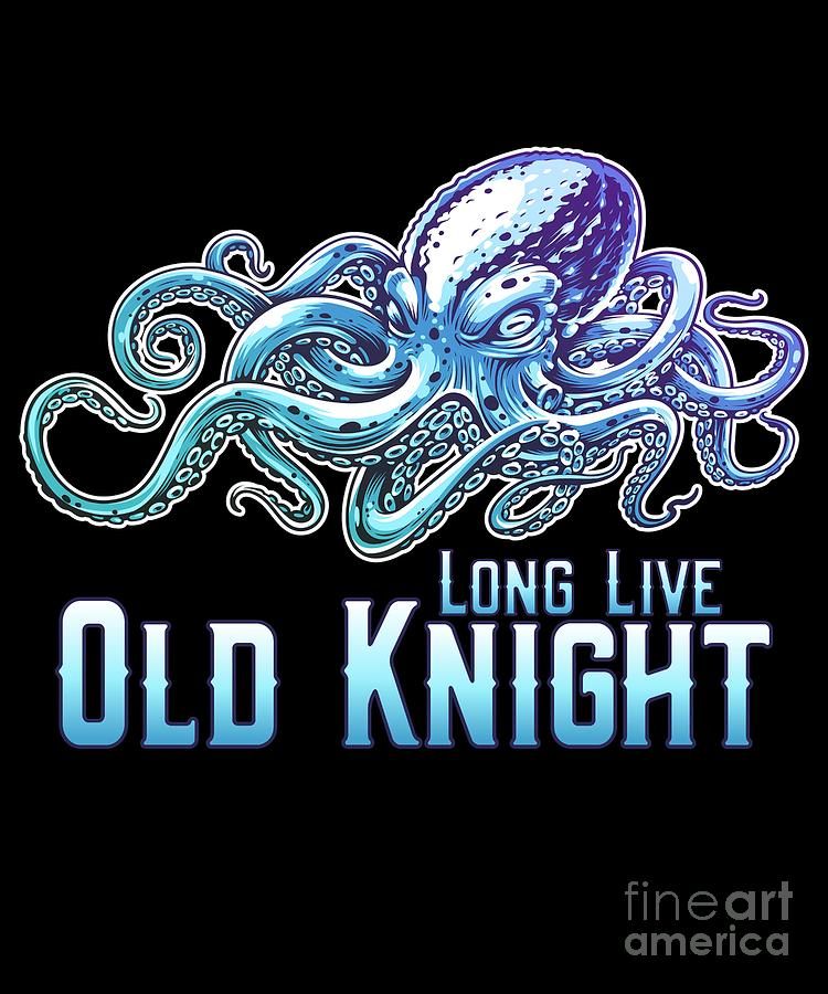 Long Live Old Knight Octopus by Flippin Sweet Gear