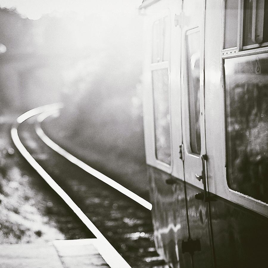 Long Train Running Photograph by James Homer