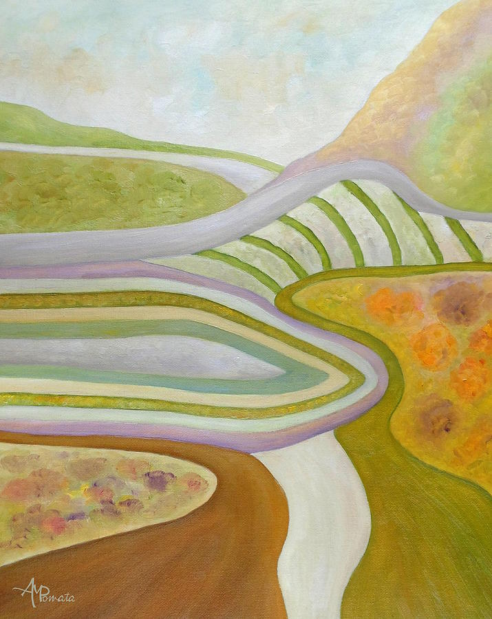 Long Winding Roads by Angeles M Pomata