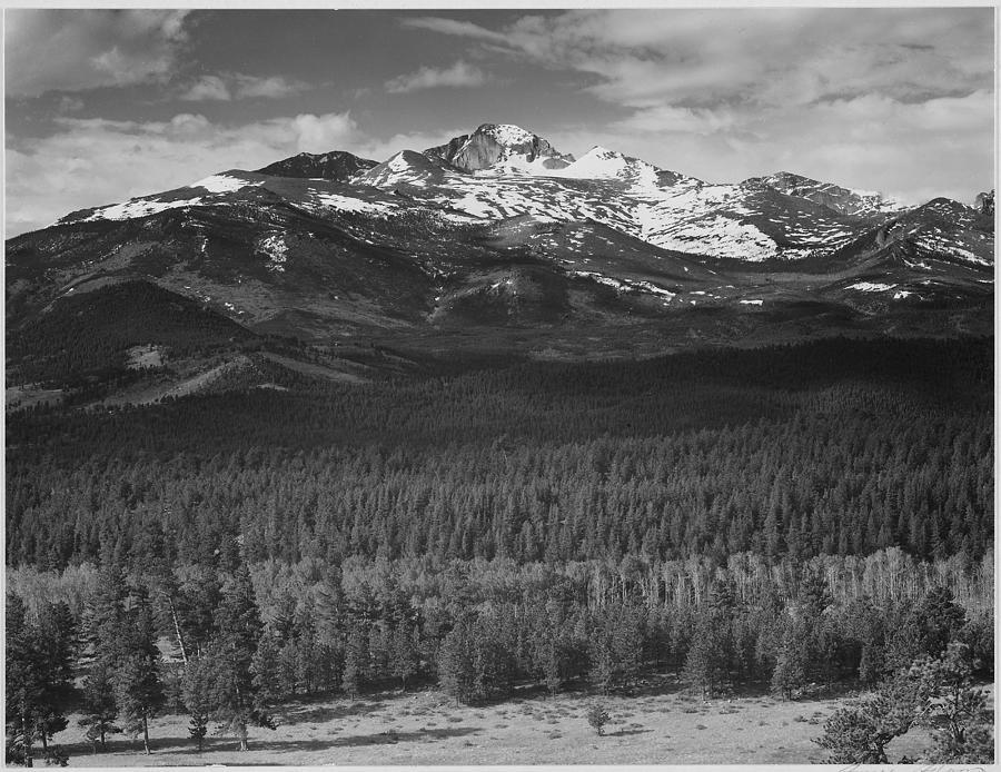 Longs Peak , Rocky Mountain National Photograph by Buyenlarge