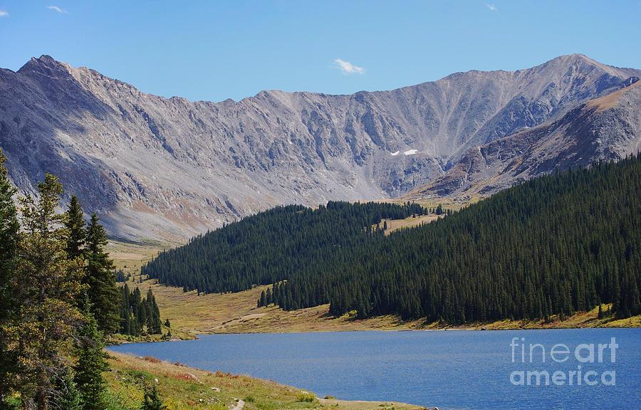 Longs Peak Colorado by Steven Liveoak