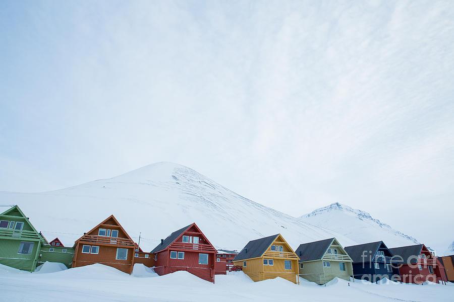 Arctic Photograph - Longyearbyen, Spitsbergen, Norway - by Aleksandra Suzi