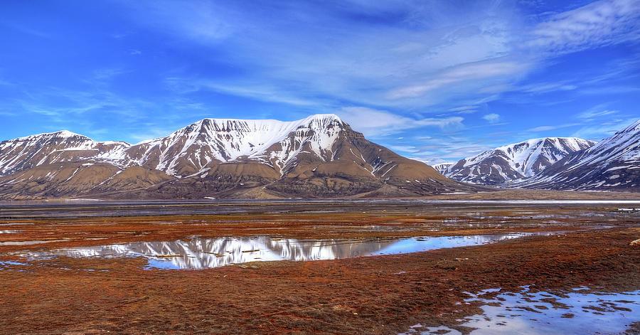 Longyearbyen - Svalbard Photograph by Vegard Røine Stenerud