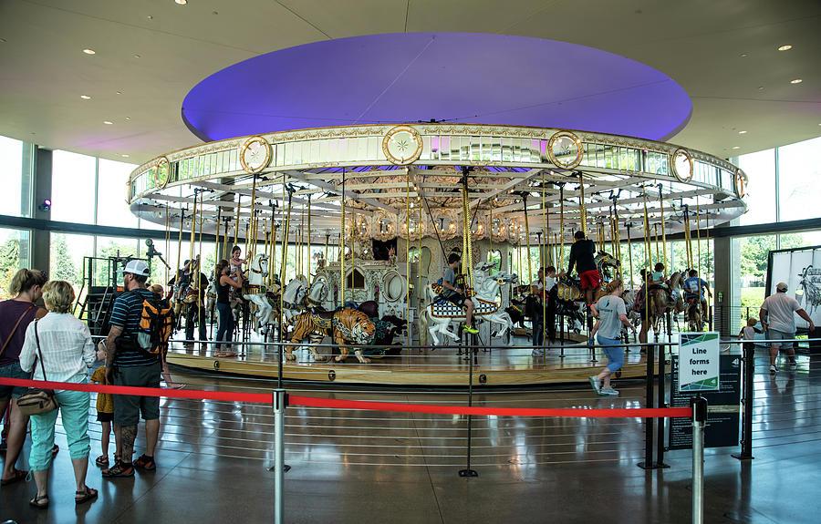 Looff Carousel by Tom Cochran