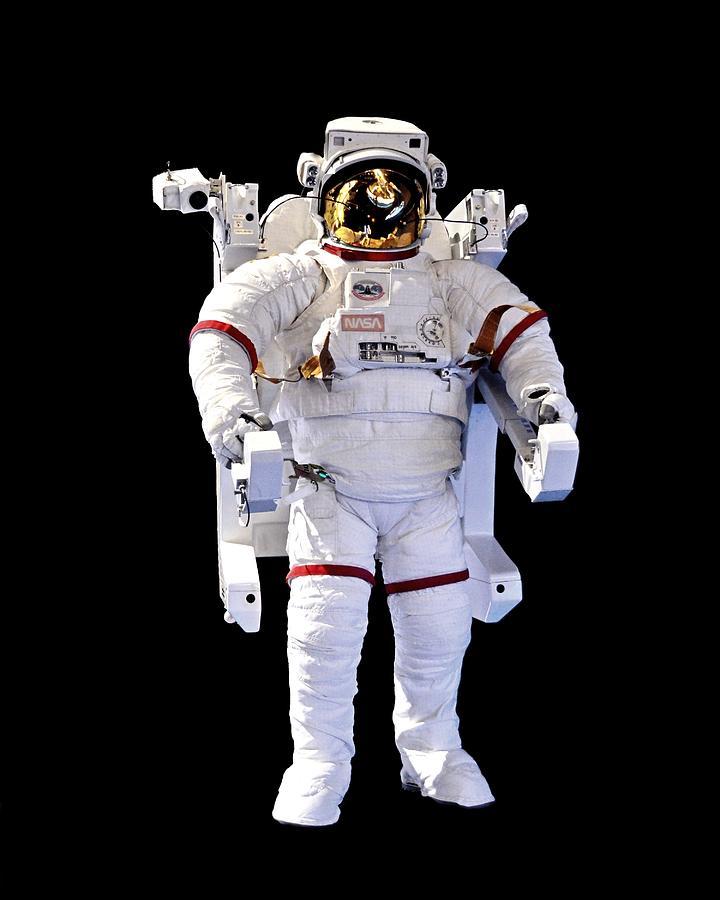 Look Ma, No Strings - Spacewalk Suit, Kennedy Space Center by KJ Swan