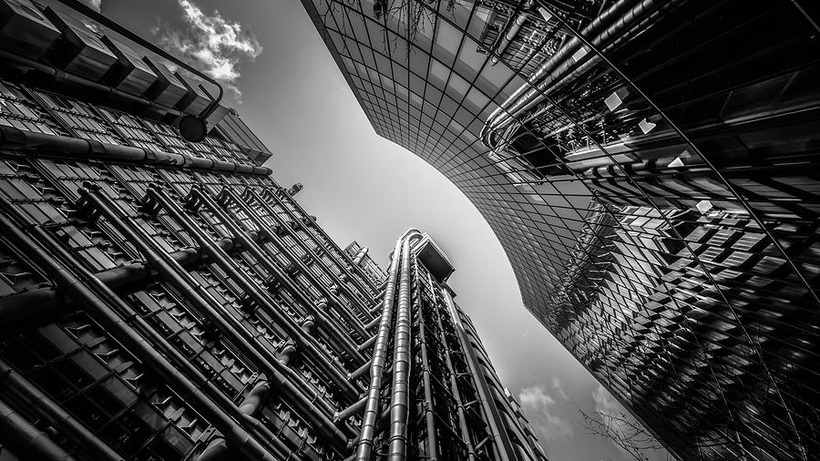 Look Up London No 1 by Chris Fletcher