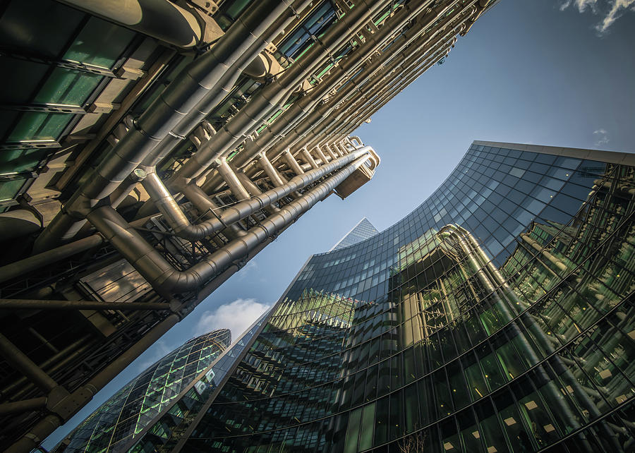 Look Up London No 2 by Chris Fletcher