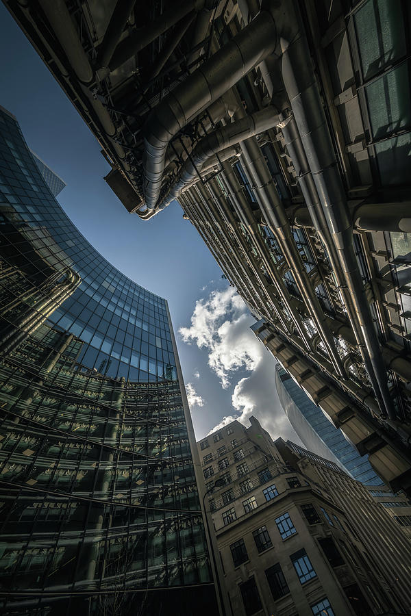 Look Up London No 3 by Chris Fletcher