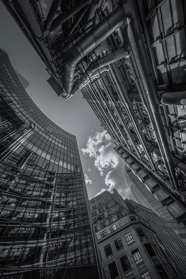 Look Up London No 3 Mono by Chris Fletcher