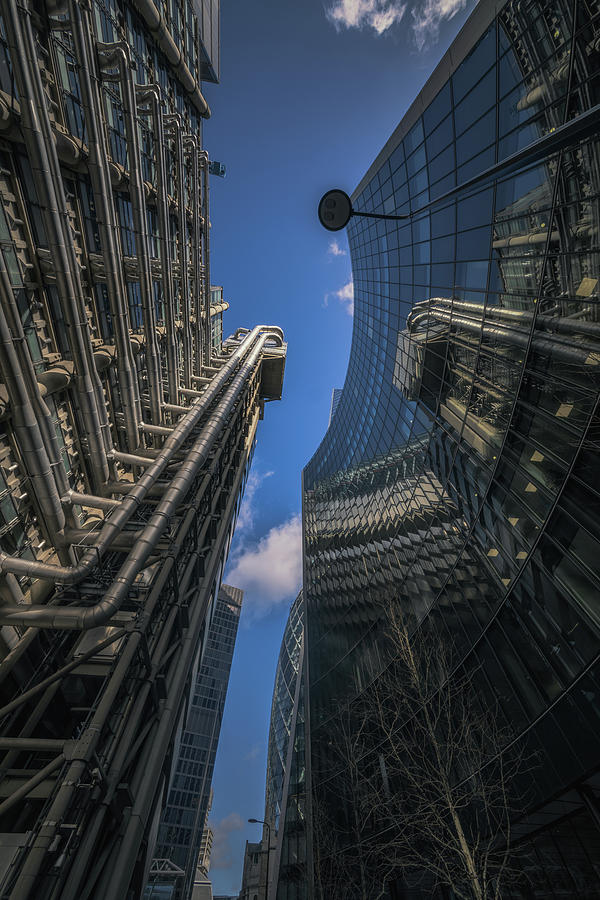Look Up London No 4 by Chris Fletcher