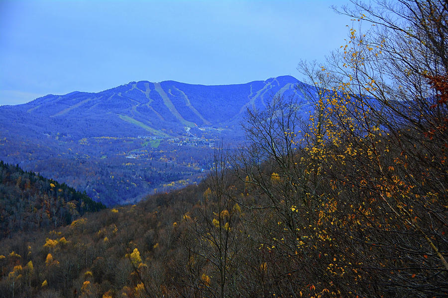 Looking Back on Killington Peak  by Raymond Salani III