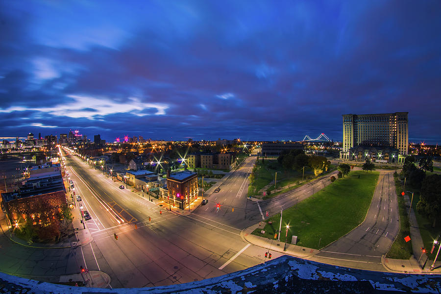 Looking down on Corktown by Jay Smith