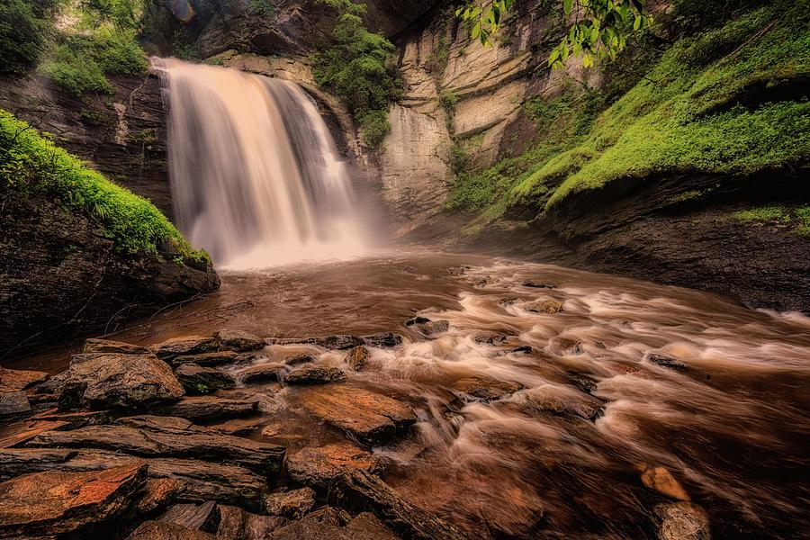 Looking Glass Falls Blue Ridge Pkyw NC-GRK4636_06182019 by Greg Kluempers