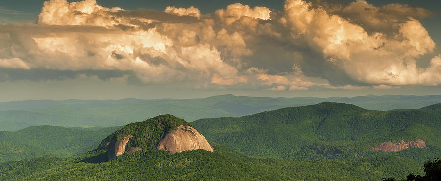 Looking Glass Rock at Sunset by Joye Ardyn Durham