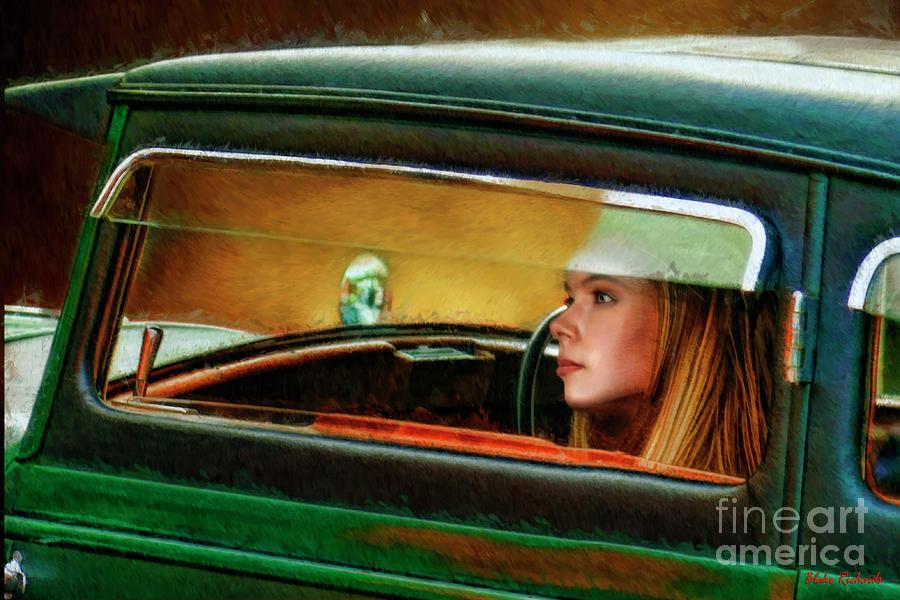 Looking Out My Bugatti  by Blake Richards