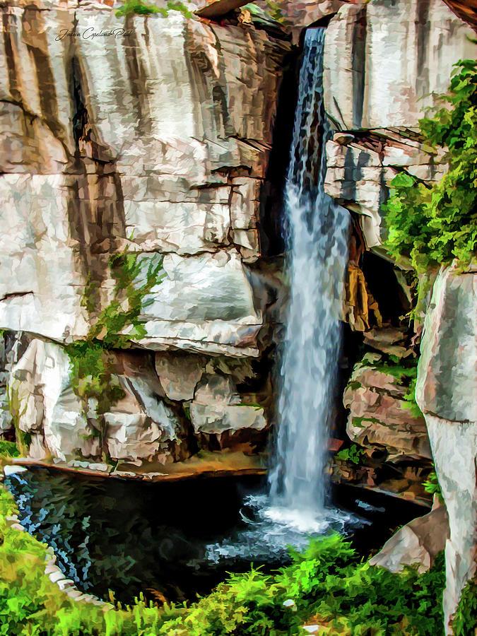Lookout Mountain Waterfall by Joann Copeland-Paul