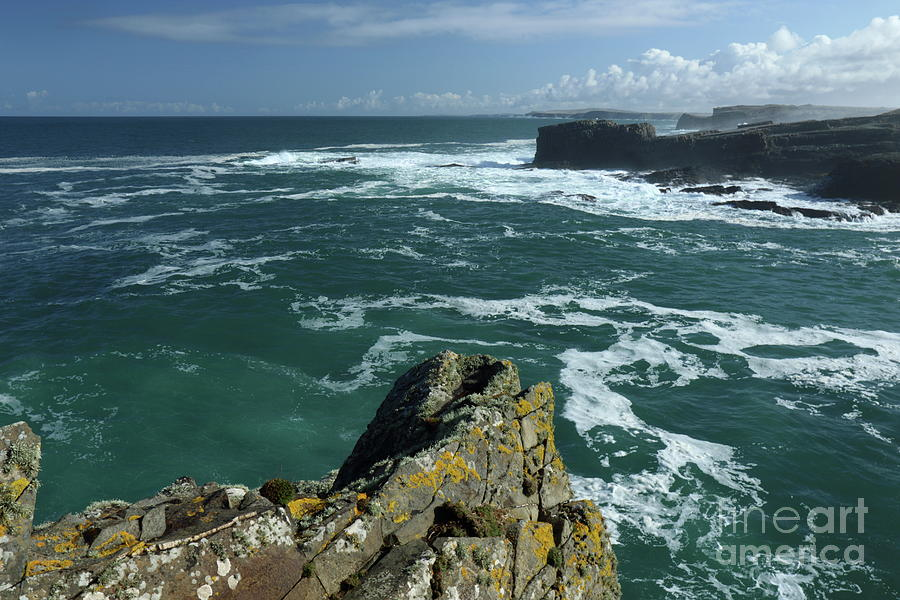 Loop head Co Clare by Peter Skelton