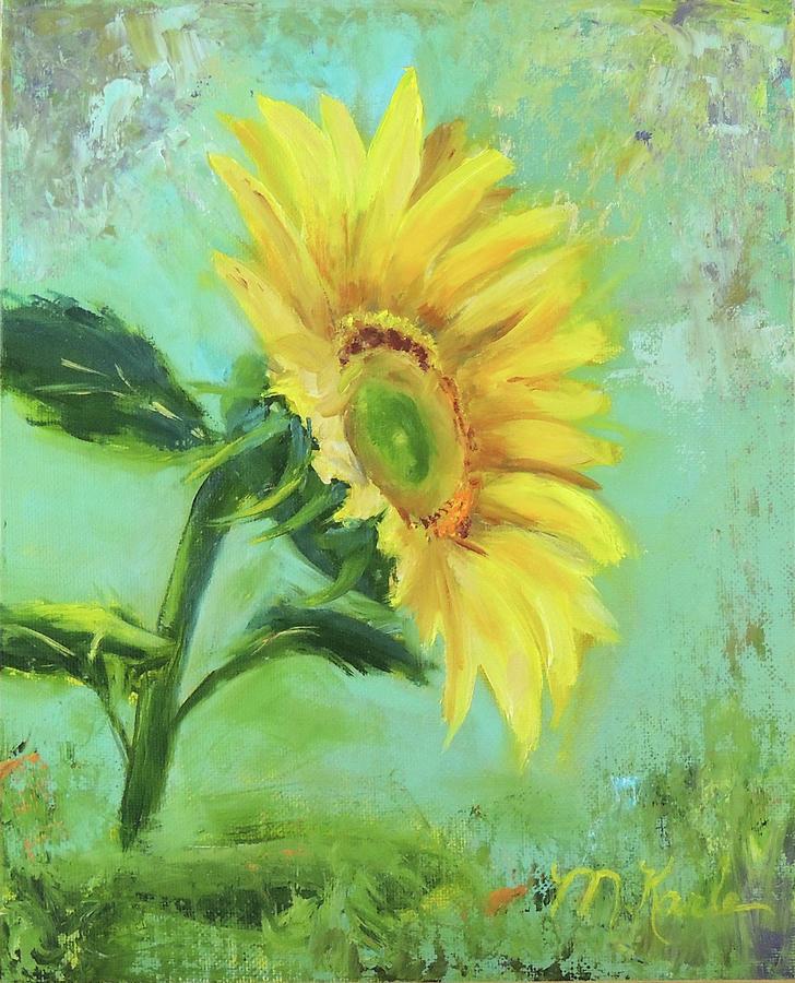 Loose Sunflower by Marsha Karle