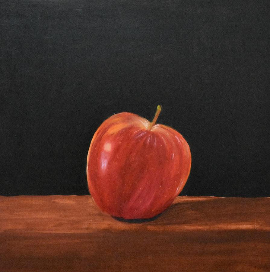 lopsided apple by Emily Warren