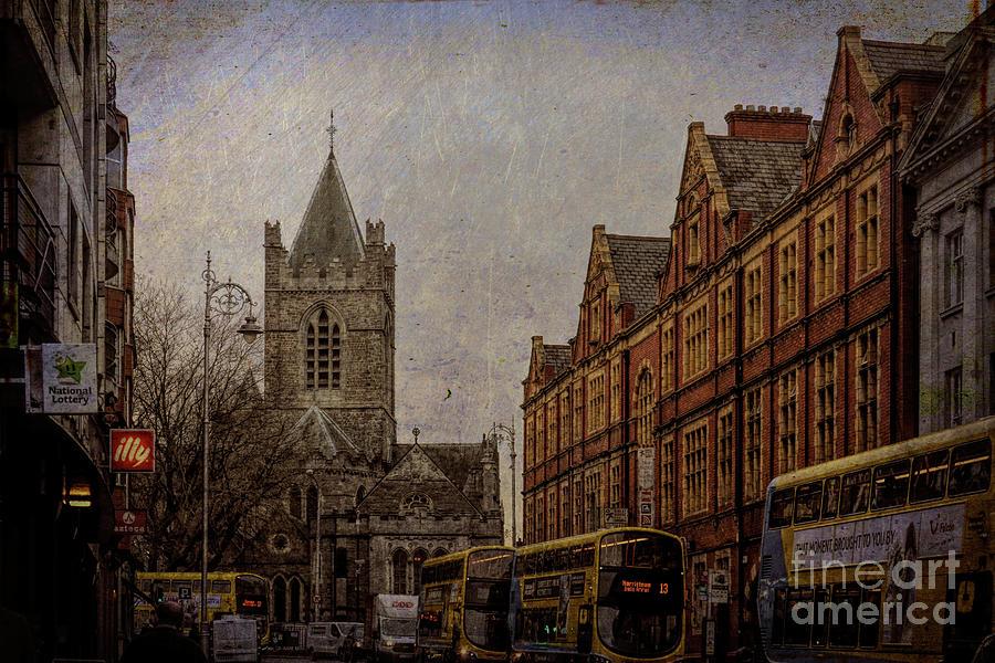 Lord Edward Street, Temple Bar, Dublin by Rebecca Carr