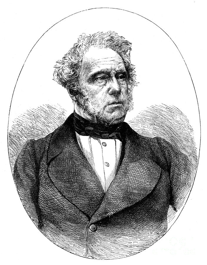 Lord Palmerston, 1784-1865, 19th Drawing by Print Collector