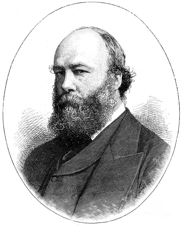 Lord Salisbury, British Statesman Drawing by Print Collector