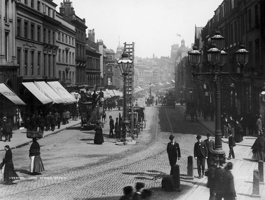 Lord Street Photograph by London Stereoscopic Company