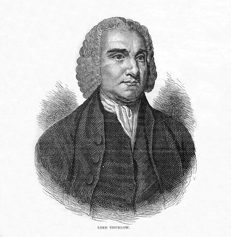 Lord Thurlow, British Lawyer And Tory Drawing by Print Collector