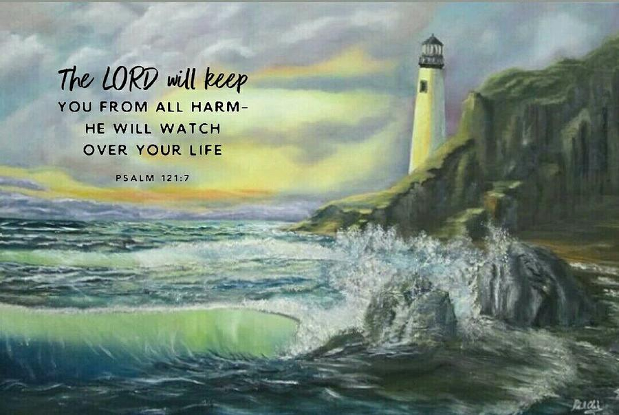 Lord Watch Over Me by Robert Clark