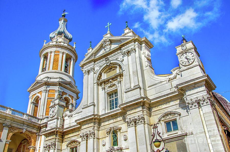 Loreto church Basilica Della Santa Casa Ancona Marche region Italy by Luca Lorenzelli